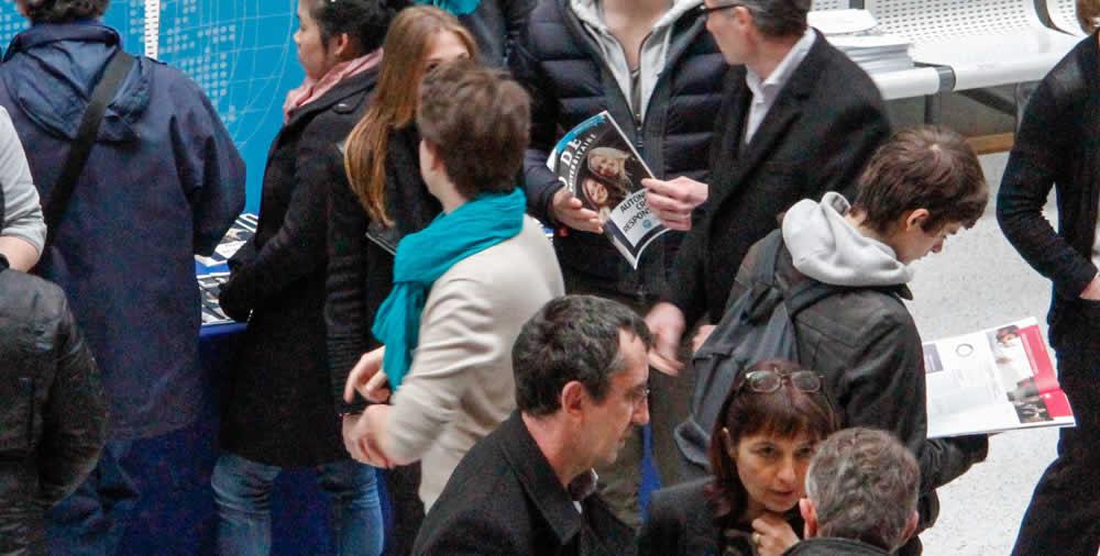 Salon des grandes coles studyrama 2015 p le for Salon porte de champerret studyrama