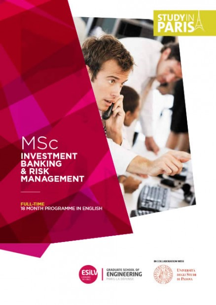 Download the MSc Investment Banking & Risk Management brochure